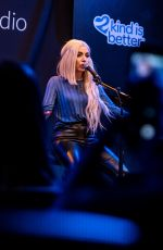 AVA MAX Performs at Bloodworks Live Studios in Portland 01/30/2019