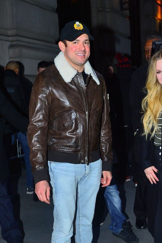 AVRIL LAVIGNE and Phillip Sarofim Out for Dinner in New York 02/16/2019