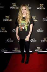 AVRIL LAVIGNE at Westwood One Radio Roundtables for 2019 Grammy Awards in Los Angeles 02/08/2019