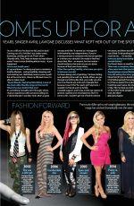 AVRIL LAVIGNE in The List Magazine, March 2019
