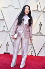 AWKWAFINA at Oscars 2019 in Los Angeles 02/24/2019