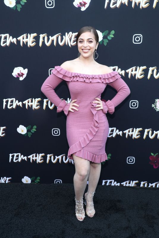 BABY ARIEL at Fem the Future Brunch at Ysabel in Los Angeles 02/08/2019