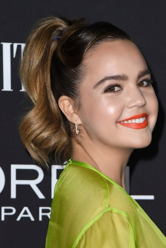 BAILEE MADISON at Vanity Fair & L'Oreal Paris Celebrate New Hollywood in Los Angeles 02/19/2019