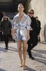 BAR REFAELI Leaves Byblos Fashion Show at Milan Fashion Week 02/20/2019