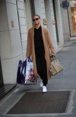 BAR REFAELI Out Shopping in Milan 02/20/2019