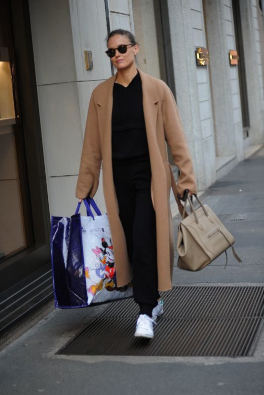 BAR REFAELI Out Shopping in Milan 02/20/2019