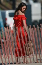 BARBARA FIALHNO at Photoshoot for Tommy Hilfiger Campaign on Venice Beach 02/07/2019