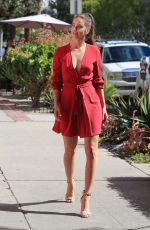 BARBARA PALVIN at Armani Pop up Store in West Hollywood 02/21/2019
