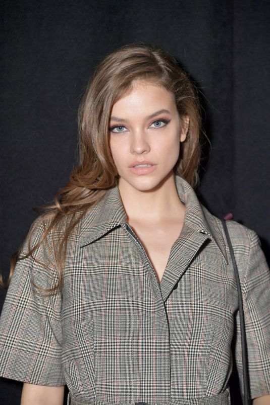BARBARA PALVIN at Boss Fashion Show inn New York 02/13/2019