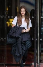 BARBARA PALVIN Leaves Royal Monceau Hotel in Paris 02/06/2019