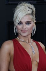 BEBE REXHA at 61st Annual Grammy Awards in Los Angeles 02/10/2019
