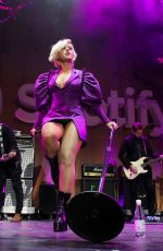 BEBE REXHA Performs at Spotify Best New Artist Party in Los Angeles 02/07/2019