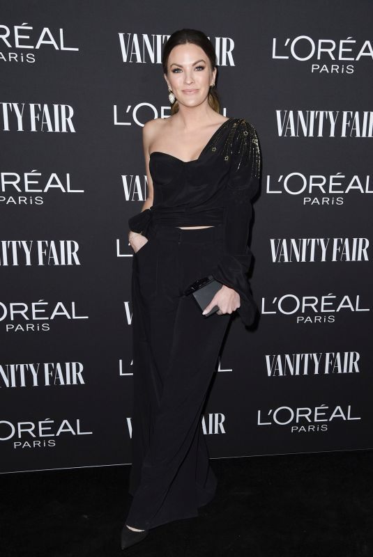 BECCA TILLEY at Vanity Fair & L'Oreal Paris Celebrate New Hollywood in Los Angeles 02/19/2019