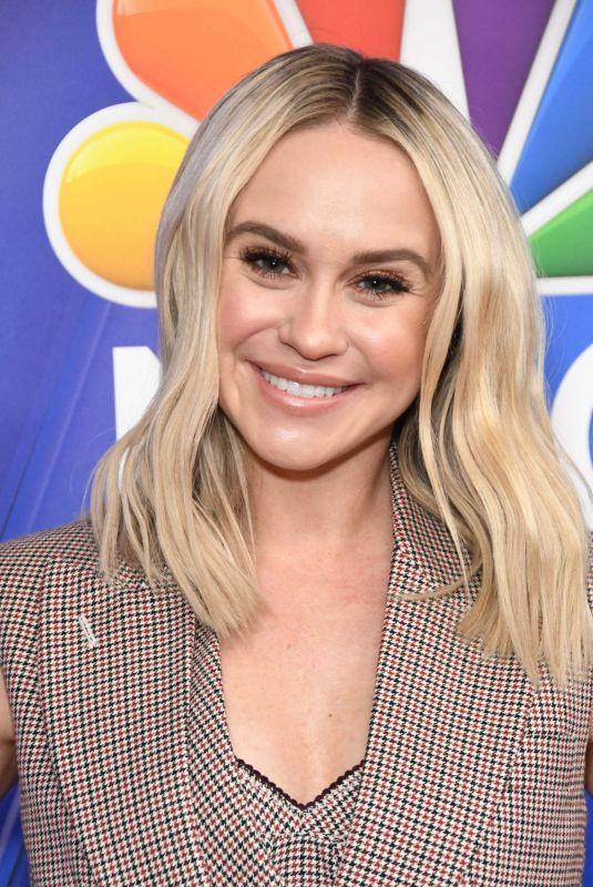 BECCA TOBIN at NBC LA Midseason Press Day in Los Angeles 02/20/2019