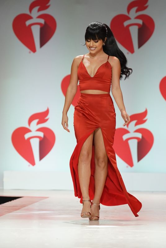 BECKY G at Heart Truth Go Red for Women Red Dress Collection Runway in New York 02/07/2019