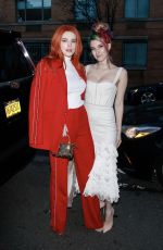 BELLA and DANI THORNE at Jonathan Simkhai Fashion Show in New York 02/09/2019