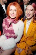 BELLA and DANI THORNE at Prabal Gurung Show in New york 02/10/2019