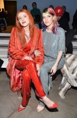 BELLA and DANI THORNE at Sally Lapointe Show at New York Fashion Week 02/12/2019