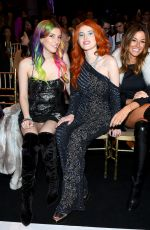 BELLA and DANI THORNE at Sherri Hill Fashion Show in new york 02/08/2019