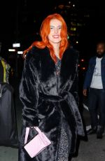 BELLA and DANI THORNE Leaves Their Hotel in New York 02/08/2019