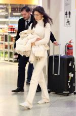 BELLA HADID Arrives at Airport in Athens 02/24/2019