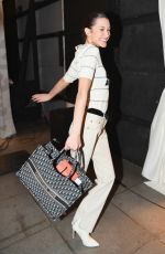 BELLA HADID at Brandon Waxwell Runway Show at New York Fashion Week 02/09/2019