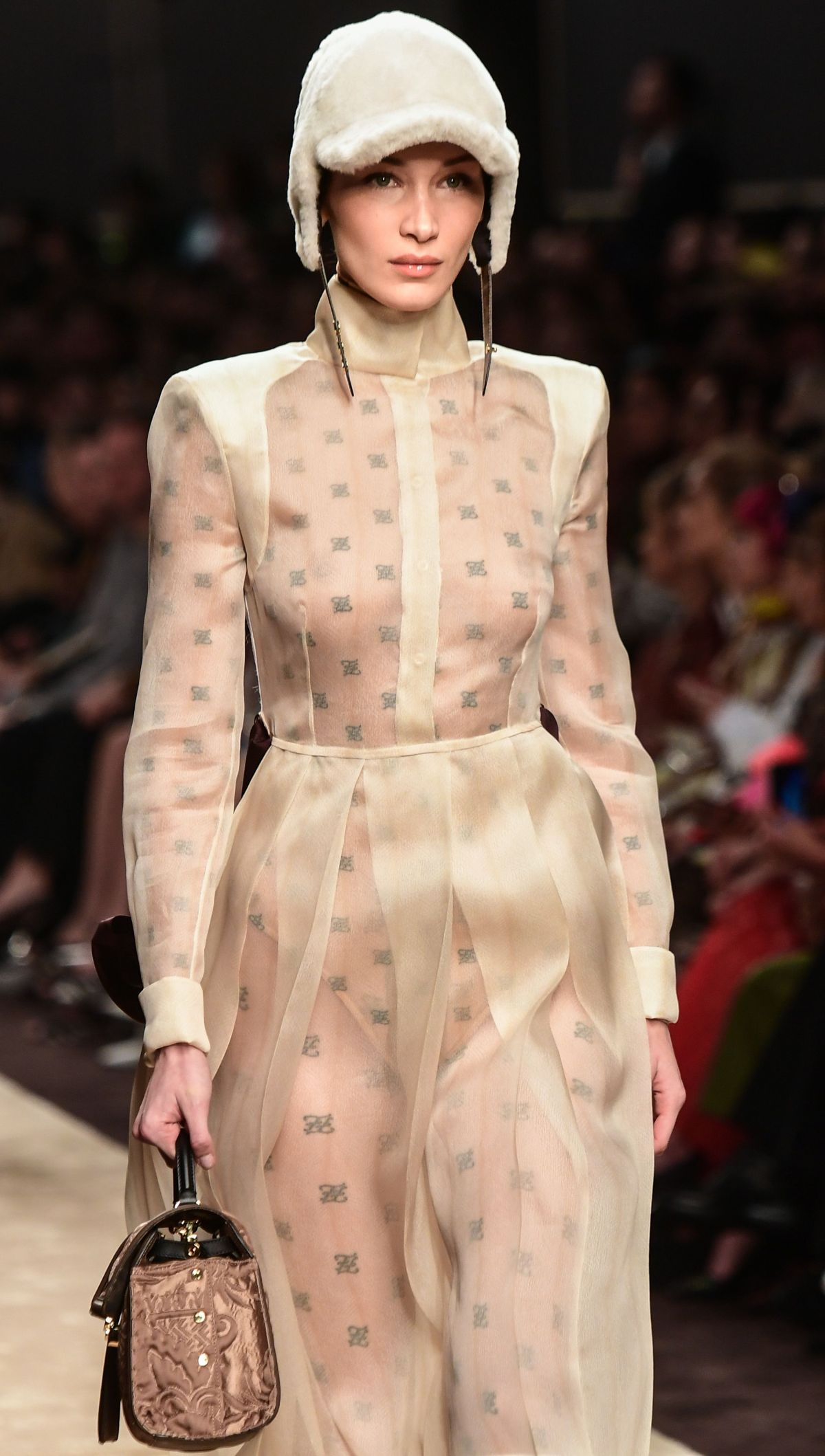 222efa33ea99 BELLA HADID at Fendi Runway Show at Milan Fashion Week 02 21 2019 ...