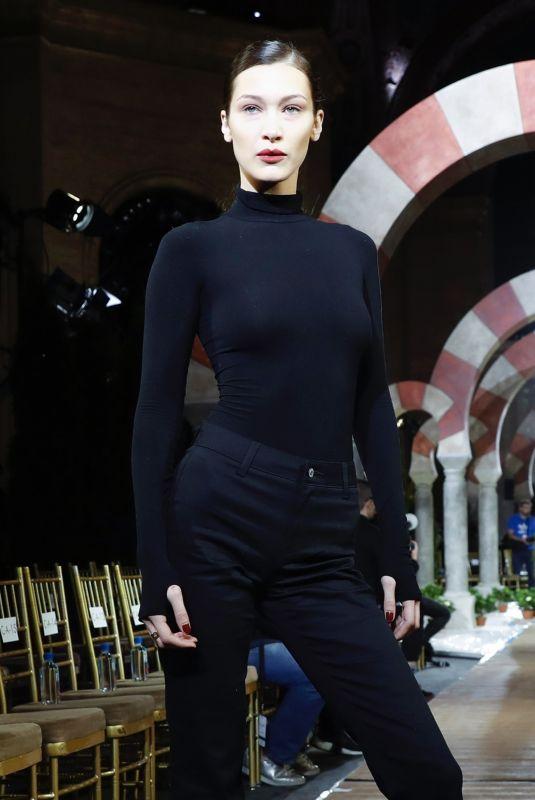 BELLA HADID at Oscar De La Renta Show Rehersal in New York 02/12/2019