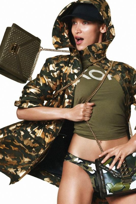 BELLA HADID for Michael Kors Spring 2019 Campaign