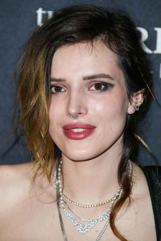 BELLA THORNE at Filming Italy Awards 2019 in Hollywood 01/31/2019