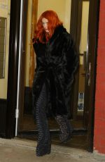 BELLA THORNE Leaves Her Hotel in New York 02/08/2019