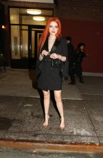 BELLA THORNE Night Out in New York 02/07/2019