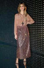 BENEDETTA PORCAROLI at Gucci Fashion Show at LFW in London 02/20/2019