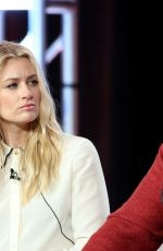BETH BEHRS at The Neighborhood Panel ta TCA Winter Tour in Los Angeles 01/30/2019