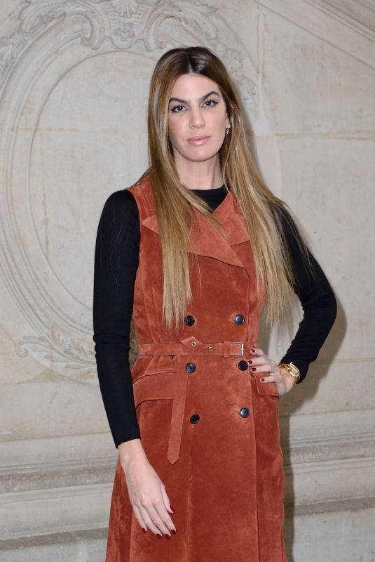 BIANCA BRANDOLINI at Christian Dior Show at Paris Fashion Week 02/26/2019