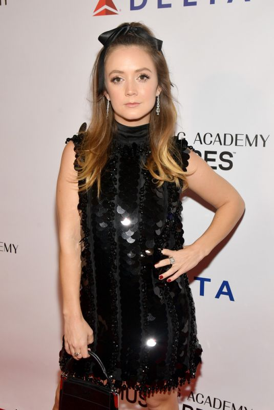 BILLIE LOURD at Musicares Person of the Year Honoring Dolly Parton in Los Angeles 02/08/2019