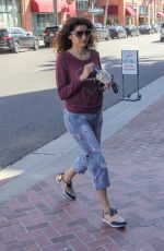BLANCA BLANCO Out for Frozen Yogurt in Beverly Hills 02/08/2019