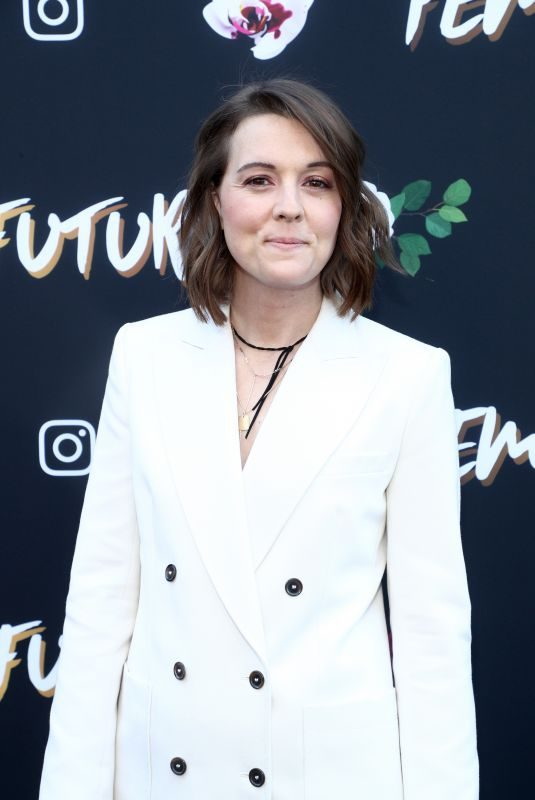 BRANDI CARLILE at Fem the Future Brunch at Ysabel in Los Angeles 02/08/2019