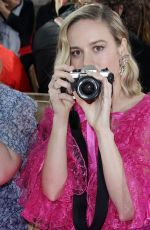 BRIE LARSON at Rodarte Fashion Show in San Marino 02/05/2019
