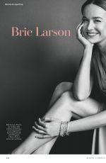 BRIE LARSON in Io Donna Del Corriere Della Sera, February 2019