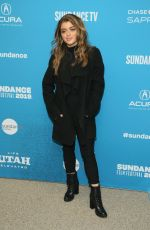 BRIELLE BARBUSCA at Big Time Adolescence Premiere at Sundance Film Festival 01/28/2019