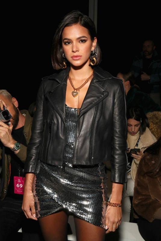BRUNA MARQUEZINE at Rosa Cha Fashion Show in New York 02/13/2019