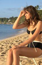 CAIRO DWEK in Bikini on the Beach in Barbados 02/13/2019