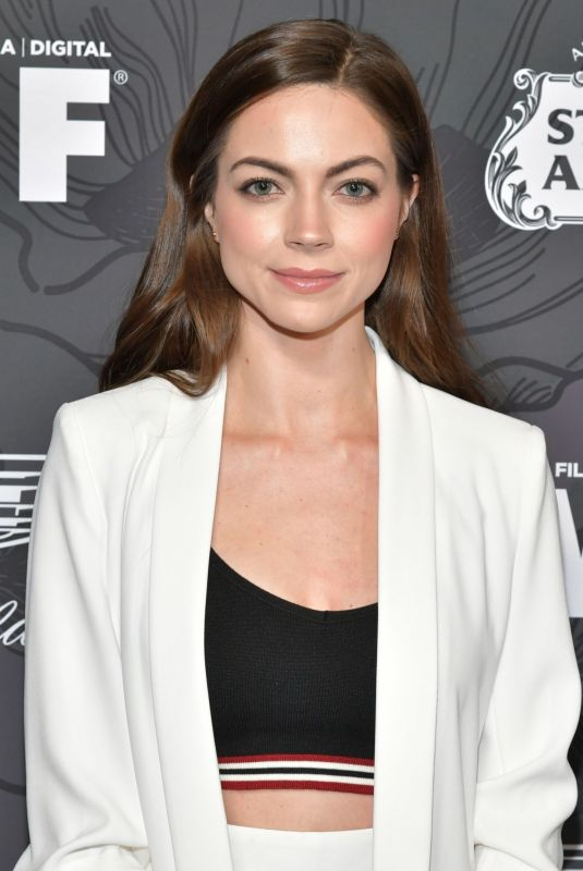 CAITLIN CARVER at Women in Film Oscar Party in Beverly Hills 02/22/2019