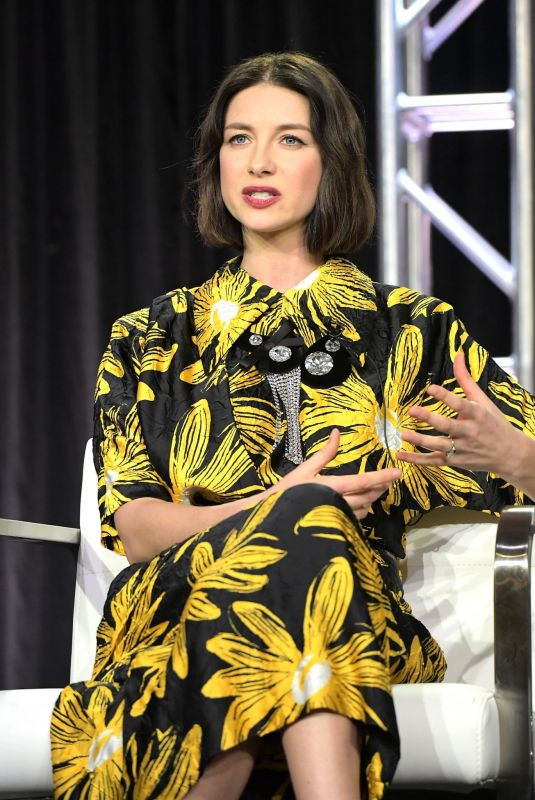 CAITRIONA BALFE at Starz 2019 Winter TCA Press Tour in Los Angeles 02/12/2019