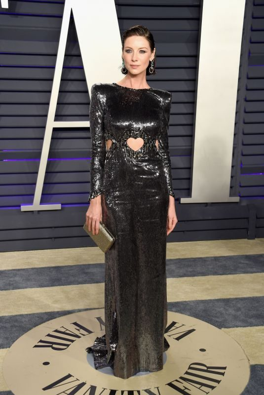 CAITRIONA BALFE at Vanity Fair Oscar Party in Beverly Hills 02/24/2019