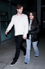 CAMILA CABELLO and Matthew Hussey Night Out in Hollywood 01/31/2019