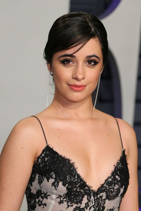 CAMILA CABELLO at Vanity Fair Oscar Party in Beverly Hills 02/24/2019