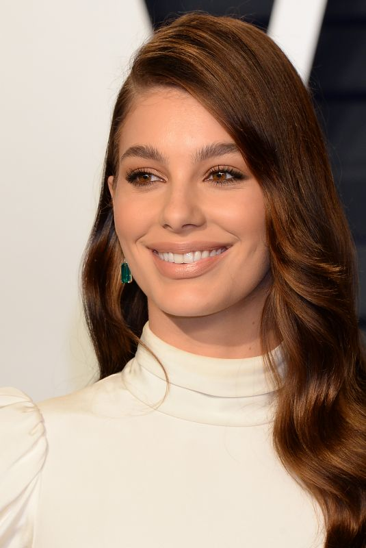 CAMILA MORRONE at Vanity Fair Oscar Party in Beverly Hills 02/24/2019