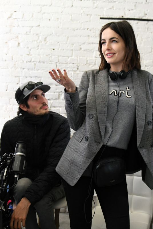 CAMILLA BELLE at One Love Foundation #LoveBetter Video Campaign in New York 02/06/2018